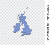 united kingdom map   high