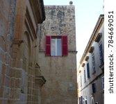 mdina  malta   malta   november ...   Shutterstock . vector #784669051