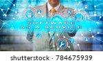 unrecognizable enterprise...   Shutterstock . vector #784675939