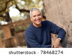 handsome middle age man with... | Shutterstock . vector #78468274