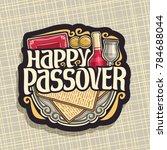 vector logo for passover...   Shutterstock .eps vector #784688044