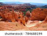 navajo trail view of bryce... | Shutterstock . vector #784688194