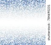 modern textured halftone on... | Shutterstock .eps vector #784690231