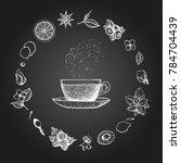 herbal tea vector illustration. ...   Shutterstock .eps vector #784704439