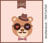 illustration vector of a cute...   Shutterstock .eps vector #784714765