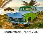 trinidad  cuba  nov 28  2017  ... | Shutterstock . vector #784717987