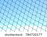 nets and blue skies | Shutterstock . vector #784720177