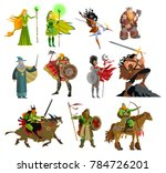 Fantasy Magical Warriors...