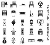 furniture icons set. simple set ... | Shutterstock . vector #784728751