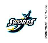 sword logo team | Shutterstock .eps vector #784750651
