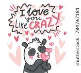cute teddy bear character in... | Shutterstock .eps vector #784767181