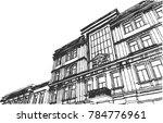 historical building vector... | Shutterstock .eps vector #784776961