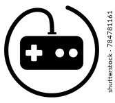 illustration of video game... | Shutterstock .eps vector #784781161