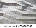 a futuristic architectural... | Shutterstock . vector #784785547