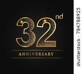 anniversary  aniversary  thirty ... | Shutterstock .eps vector #784788925