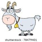 goat cartoon character | Shutterstock . vector #78479401