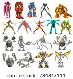 powerful battle robots...