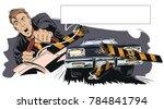 stock illustration. people in... | Shutterstock .eps vector #784841794