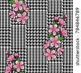 check fashion seamless pattern...   Shutterstock .eps vector #784846789