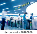 passenger in the subway station ... | Shutterstock . vector #78486058