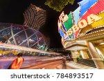 macau  china   june 30  2016 ... | Shutterstock . vector #784893517