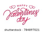 vector illustration  greeting... | Shutterstock .eps vector #784897021