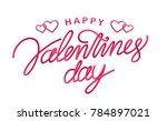 vector illustration  greeting... | Shutterstock .eps vector #784897021