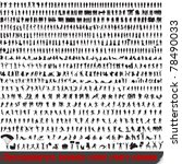 huge set of 700 very detailed... | Shutterstock . vector #78490033