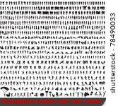 huge set of 700 very detailed... | Shutterstock . vector #78490033