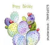 happy birthday greeting cards... | Shutterstock . vector #784916575