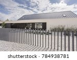 Modern Fence Of Spacious...