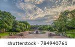 bethesda terrace and fountain... | Shutterstock . vector #784940761