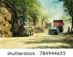 rila monastery  bulgaria   july ... | Shutterstock . vector #784944655