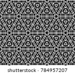 abstract repeat backdrop.... | Shutterstock .eps vector #784957207