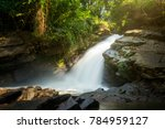mae wang waterfall at mae wang... | Shutterstock . vector #784959127