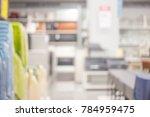 blur modern office with bokeh... | Shutterstock . vector #784959475