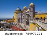 sintra  portugal   may 22  the...   Shutterstock . vector #784973221