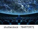 a spectacular fulldome digital...   Shutterstock . vector #784973971