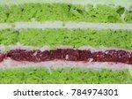 texture of biscuit cake. cake... | Shutterstock . vector #784974301
