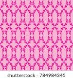 swirl doodle floral butterfly...   Shutterstock .eps vector #784984345