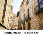 Gothic Quarter In Barcelona....