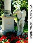 Small photo of Vienna/Austria/Europe - 06/15/2015 - Grave of Wolgang Amadeus Mozart