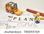 planning and sketches of... | Shutterstock . vector #785055769