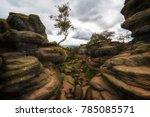 Brimham Rocks Yorkshire Englan...