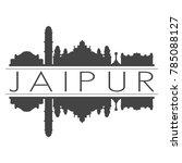 jaipur india asia skyline... | Shutterstock .eps vector #785088127