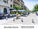 athens  greece   may 3  2017 ... | Shutterstock . vector #785102509