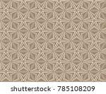 seamless abstract pattern... | Shutterstock .eps vector #785108209