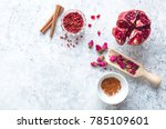 arab ingredients  middle... | Shutterstock . vector #785109601