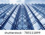 facade of modern office building | Shutterstock . vector #785111899