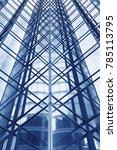 facade of modern office building | Shutterstock . vector #785113795